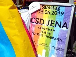 CSD Jena 2019 Infostände